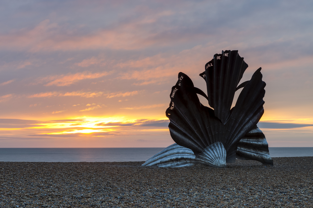The Scallop at Aldeburgh beach  (Richard Bowden/Shutterstock)