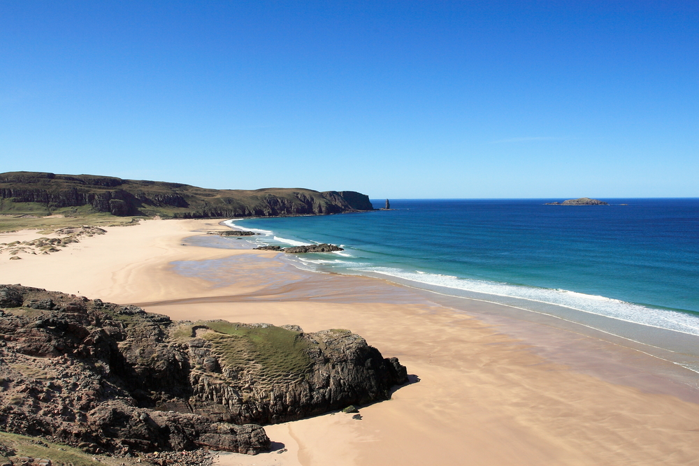 Sandwood Bay  (John A Cameron/Shutterstock)