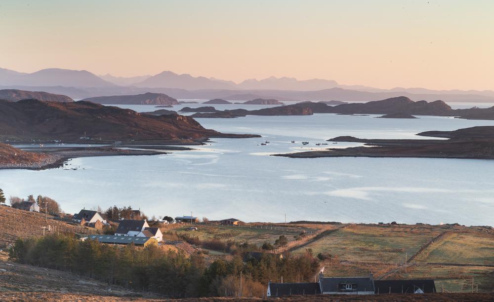 The Summer Isles from Altandhu, Northwest Highlands  (  Jan Holm/Shutterstock)