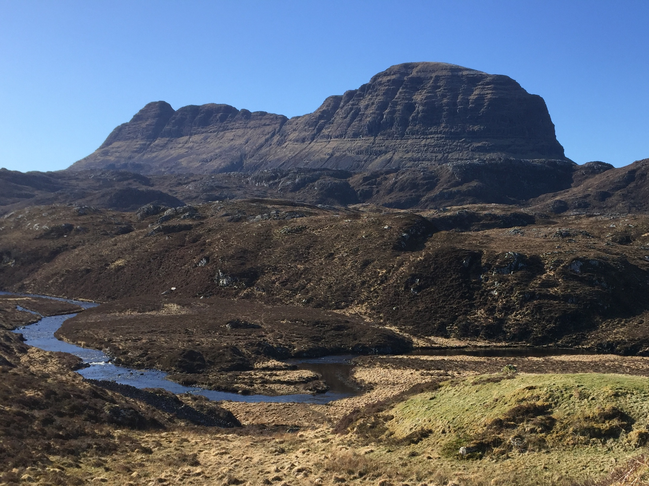 The mighty Suilven, Assynt, Northwest Highlands  (  Humphrey Butler/Marvellous Maps)