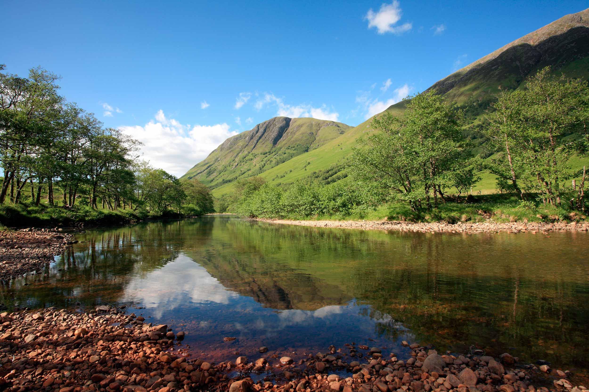 The River Nevis in Glen Nevis, Lochaber, Scotland  (Shutterstock)