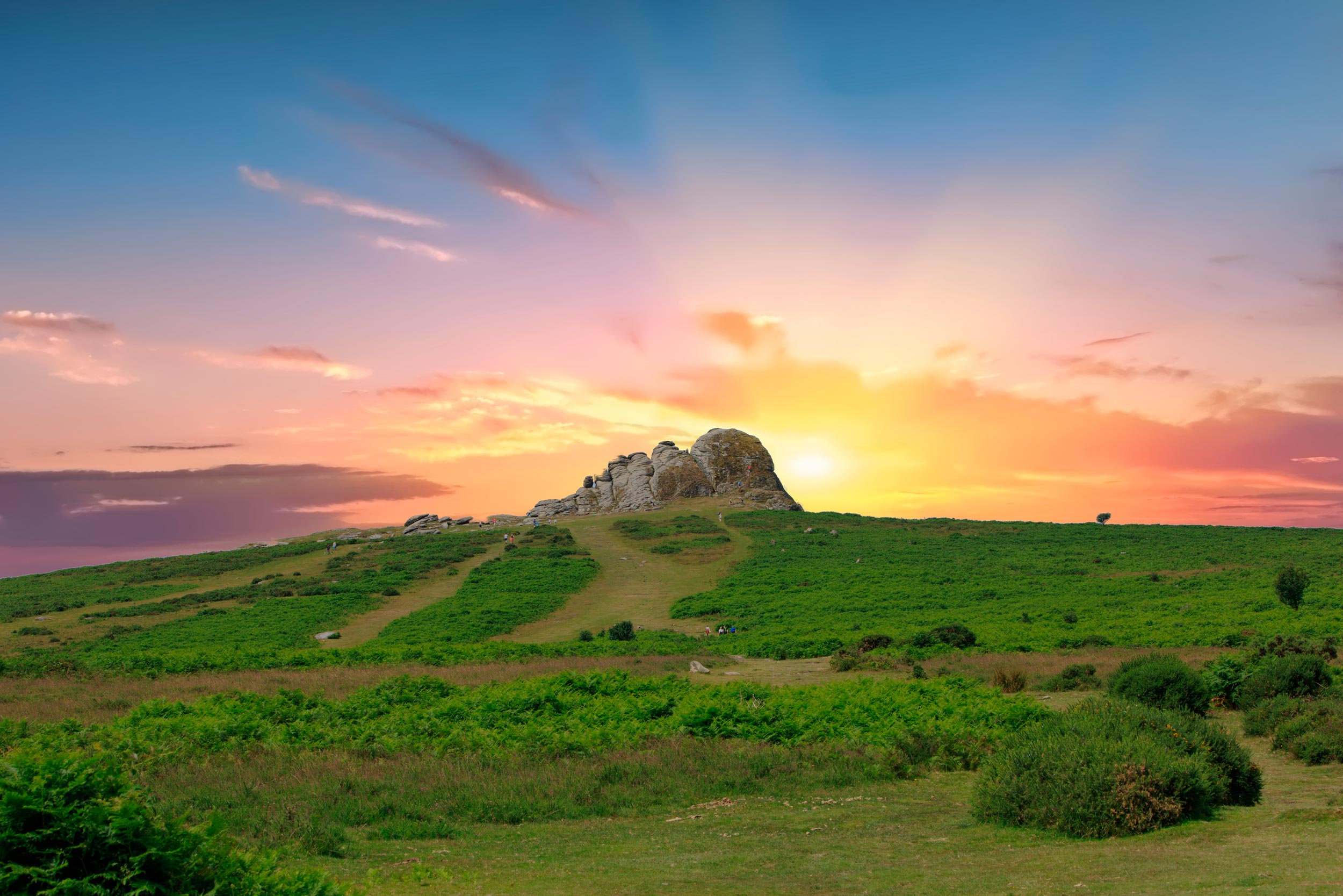 Haytor, Dartmoor, Britain's most south-westerly national park  (Paula French/Shutterstock)