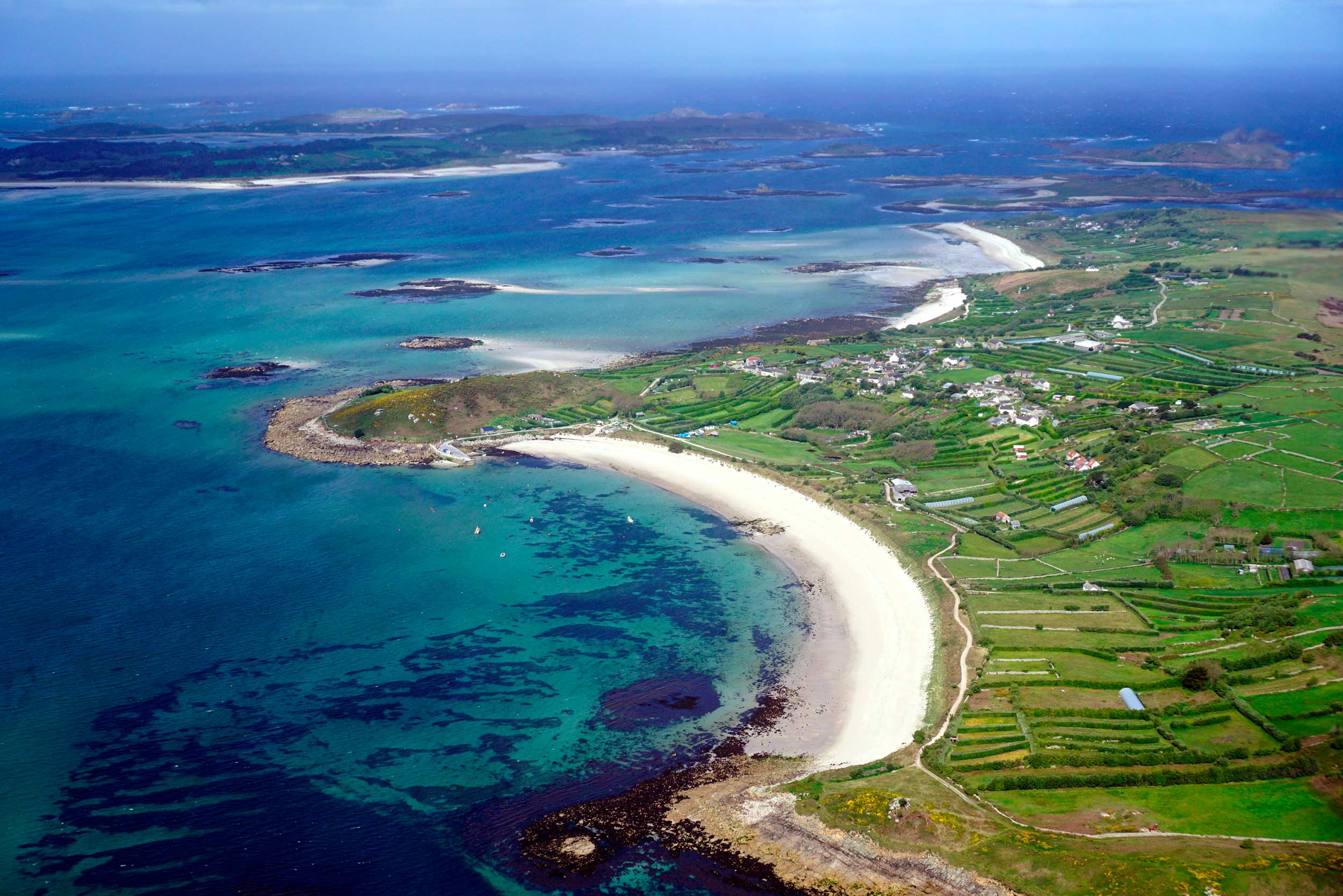 St Martin's Lower Town Beach, Isles of Scilly, England  (Stephen Rees/Shutterstock)