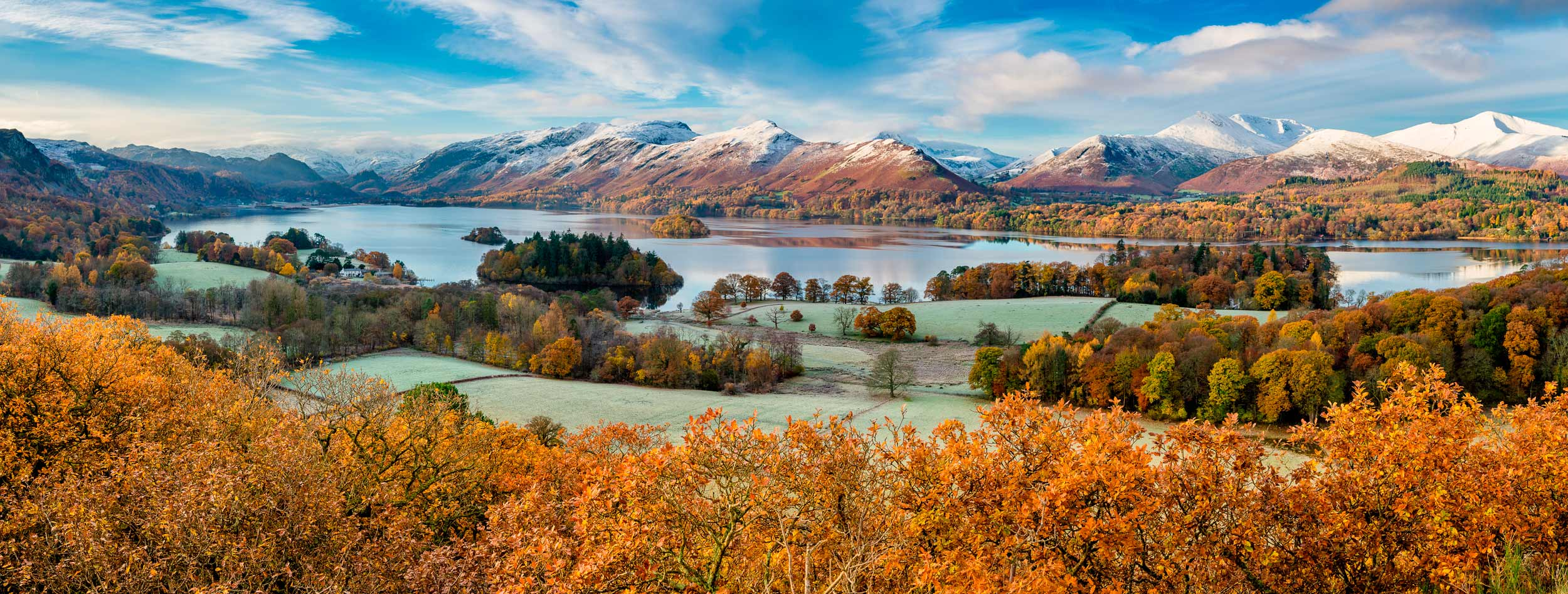 Brrrr.... Derwentwater, in the Lake District, England  (Daniel_Kay/Shutterstock)