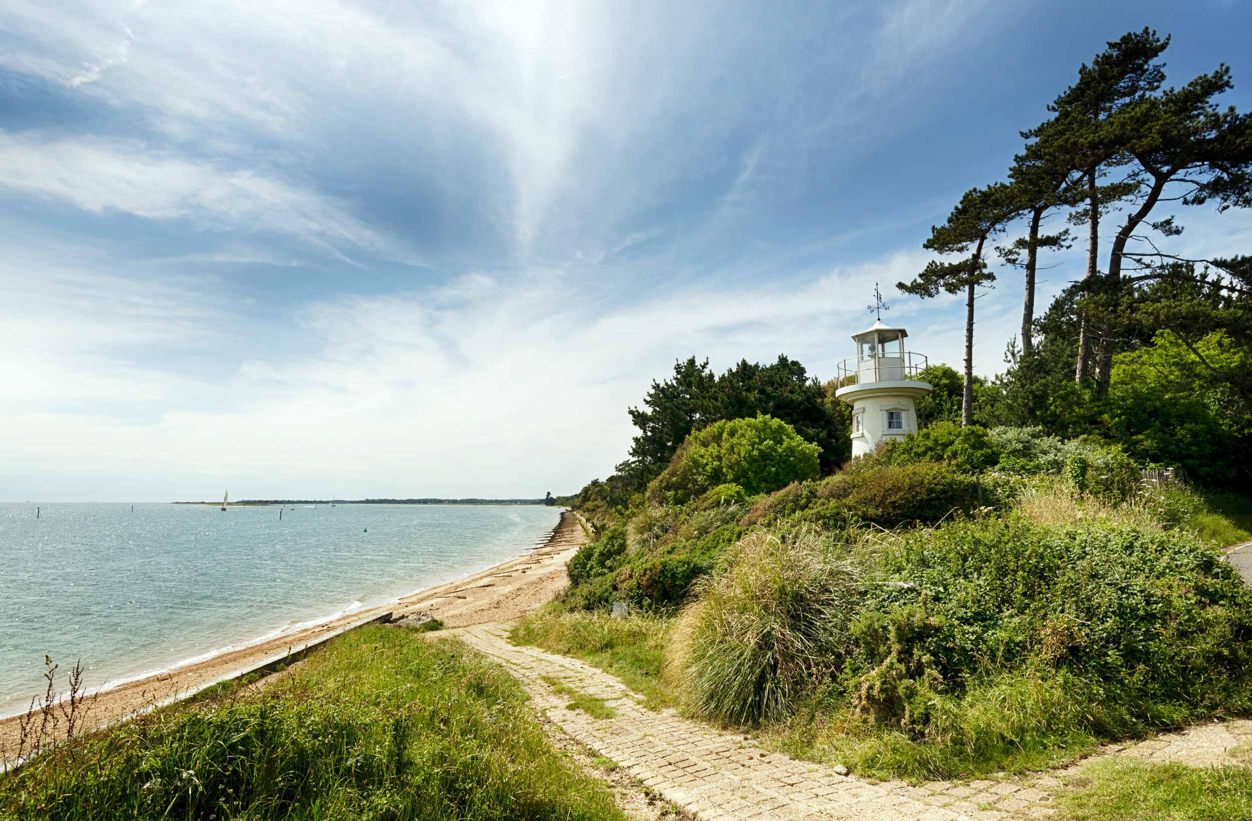 Lepe Lighthouse, New Forest, England  (Helen Hotson/Shutterstock)