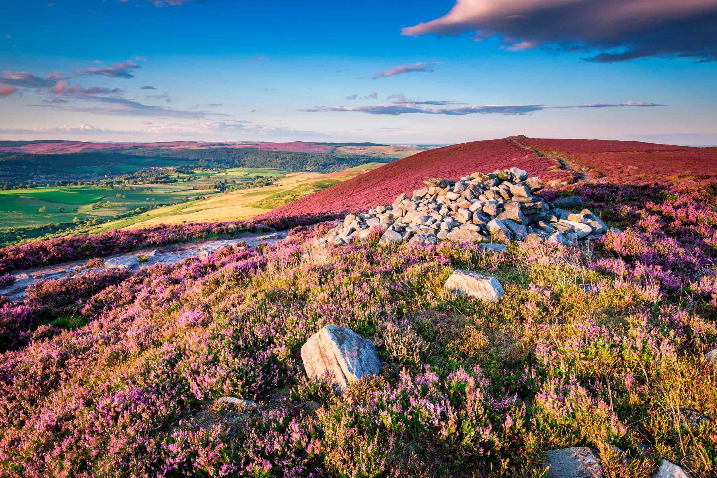 Simonside Hills overlooking Coquetdale, Northumberland  (Dave Head/Shutterstock)