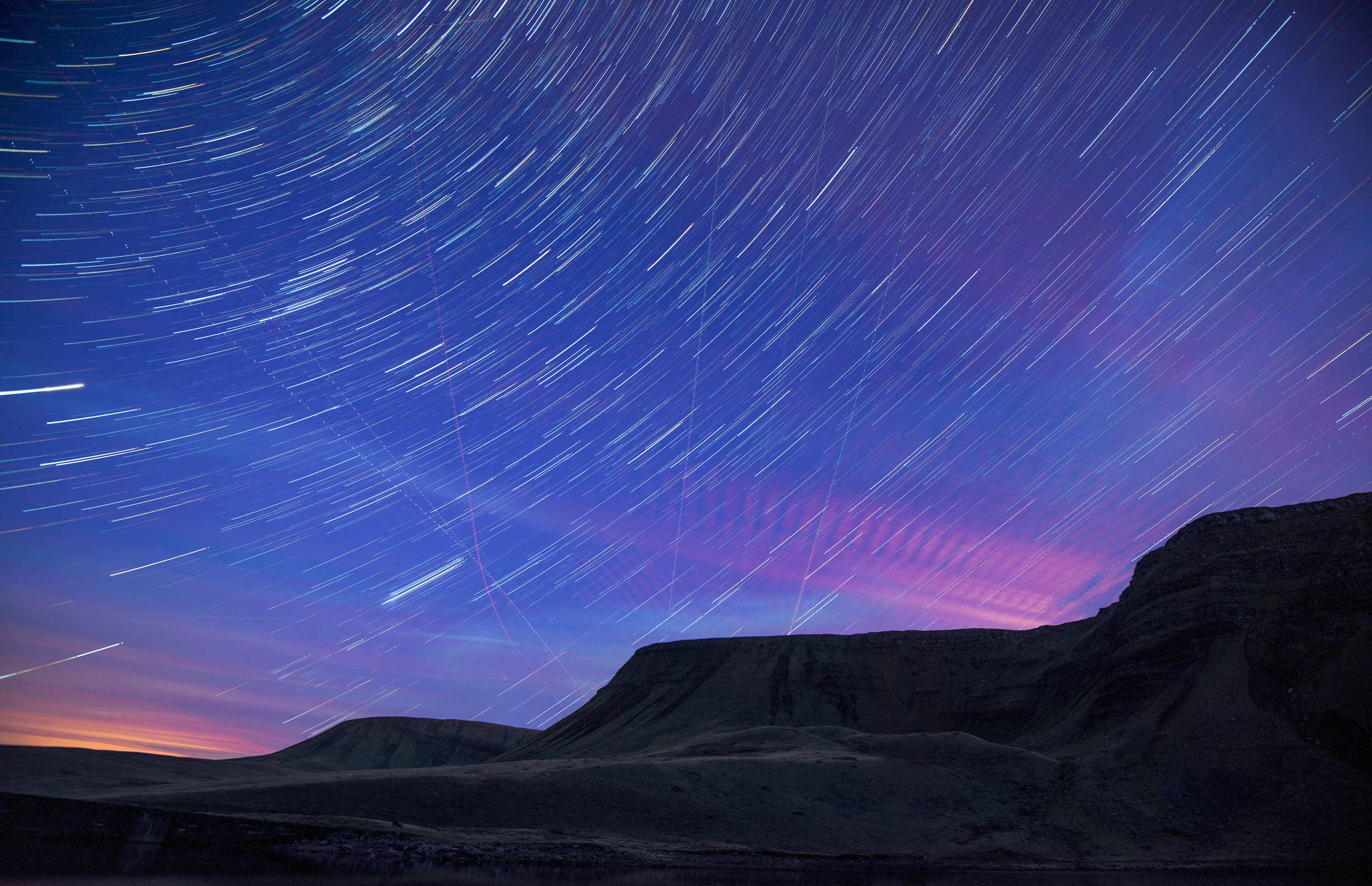 Stargazing in the Brecon Beacons, Wales  (Crown copyright 2018 / Visit Wales)