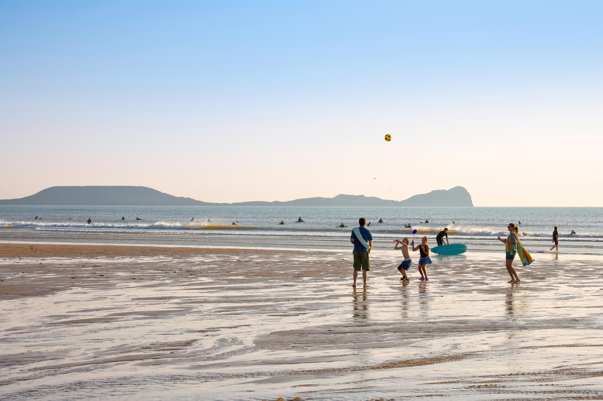The Worm's Head, Gower peninsula  (Crown copyright 2018 / Visit Wales)