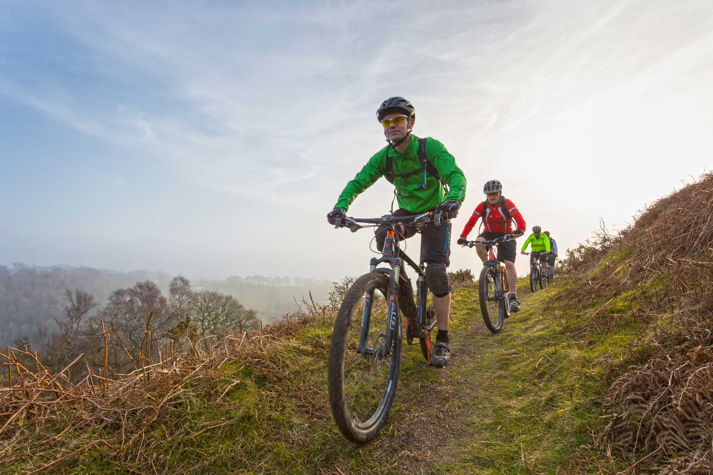 Mountain biking in the Clwydian Hills, Wales  (Crown copyright 2018 / Visit Wales)
