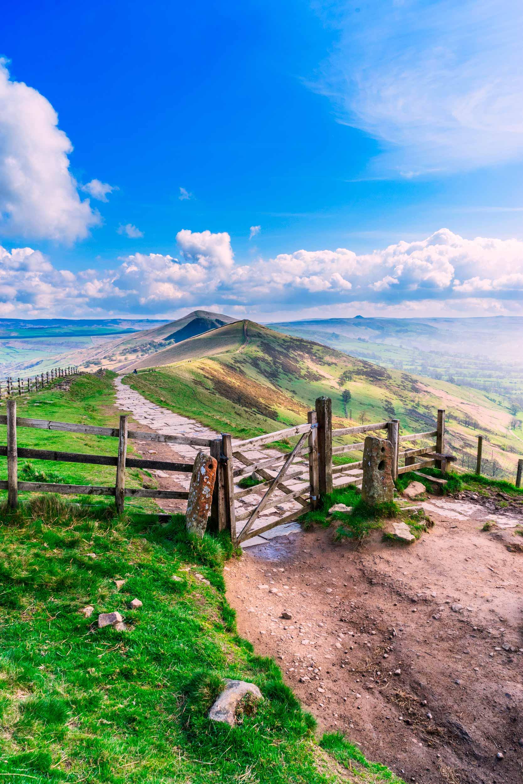 Mam Tor, Peak District - one of Britain's favourite views  (Gordon Bell/Shutterstock)