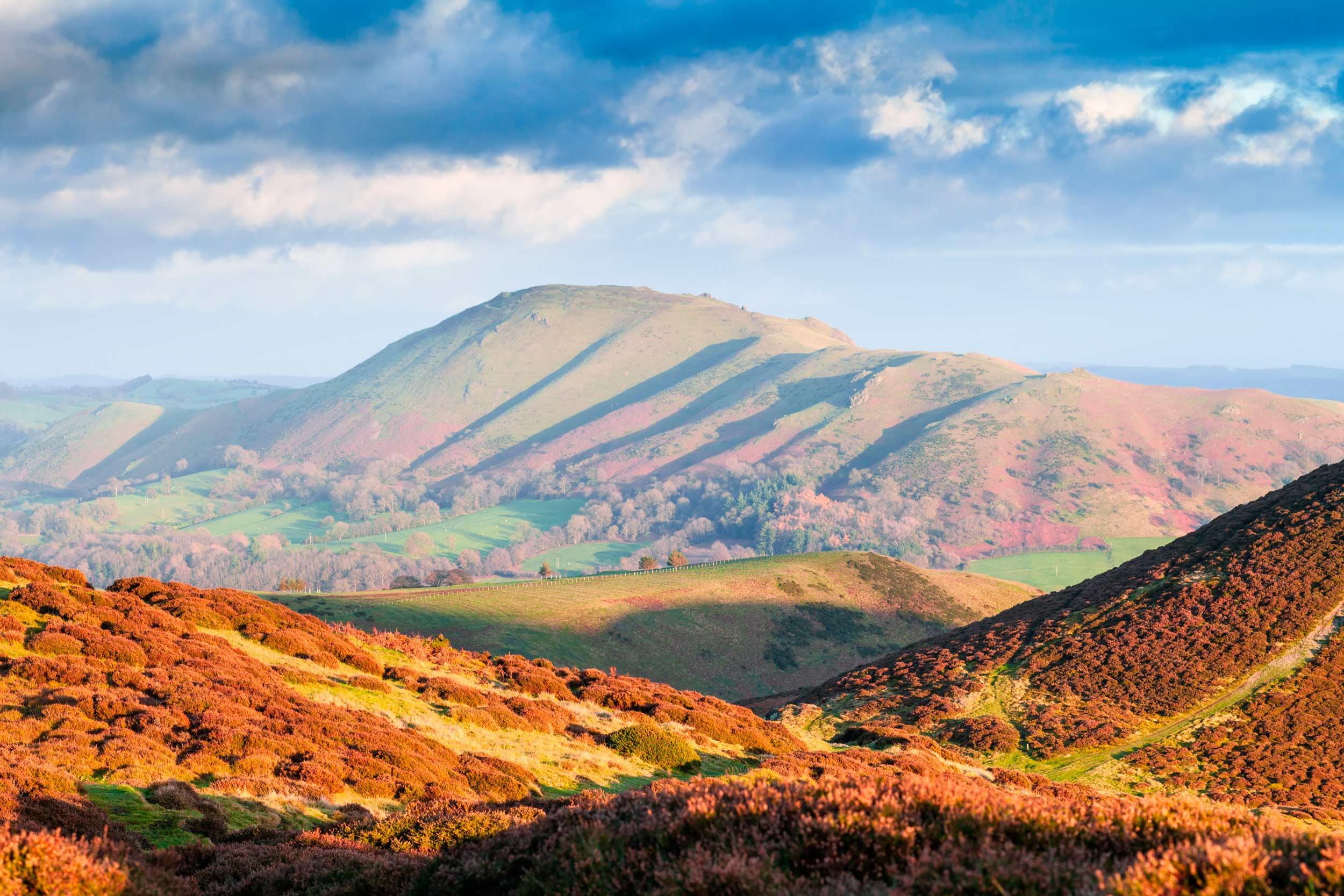 Carding Mill valley, Shropshire Hills, England  (EddieCloud/Shutterstock)