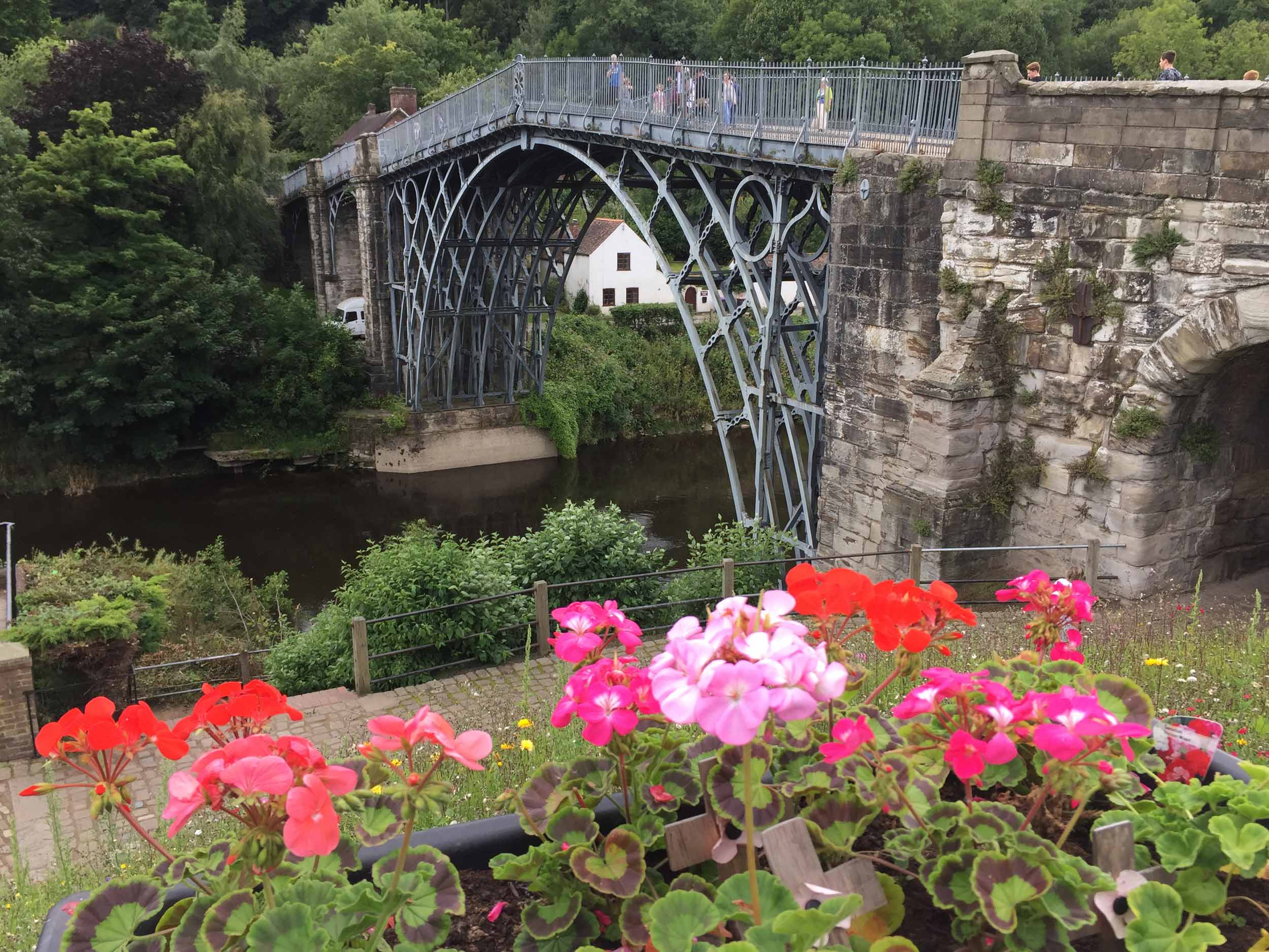 Ironbridge, Shropshire  (Humphrey Butler/Marvellous Maps)