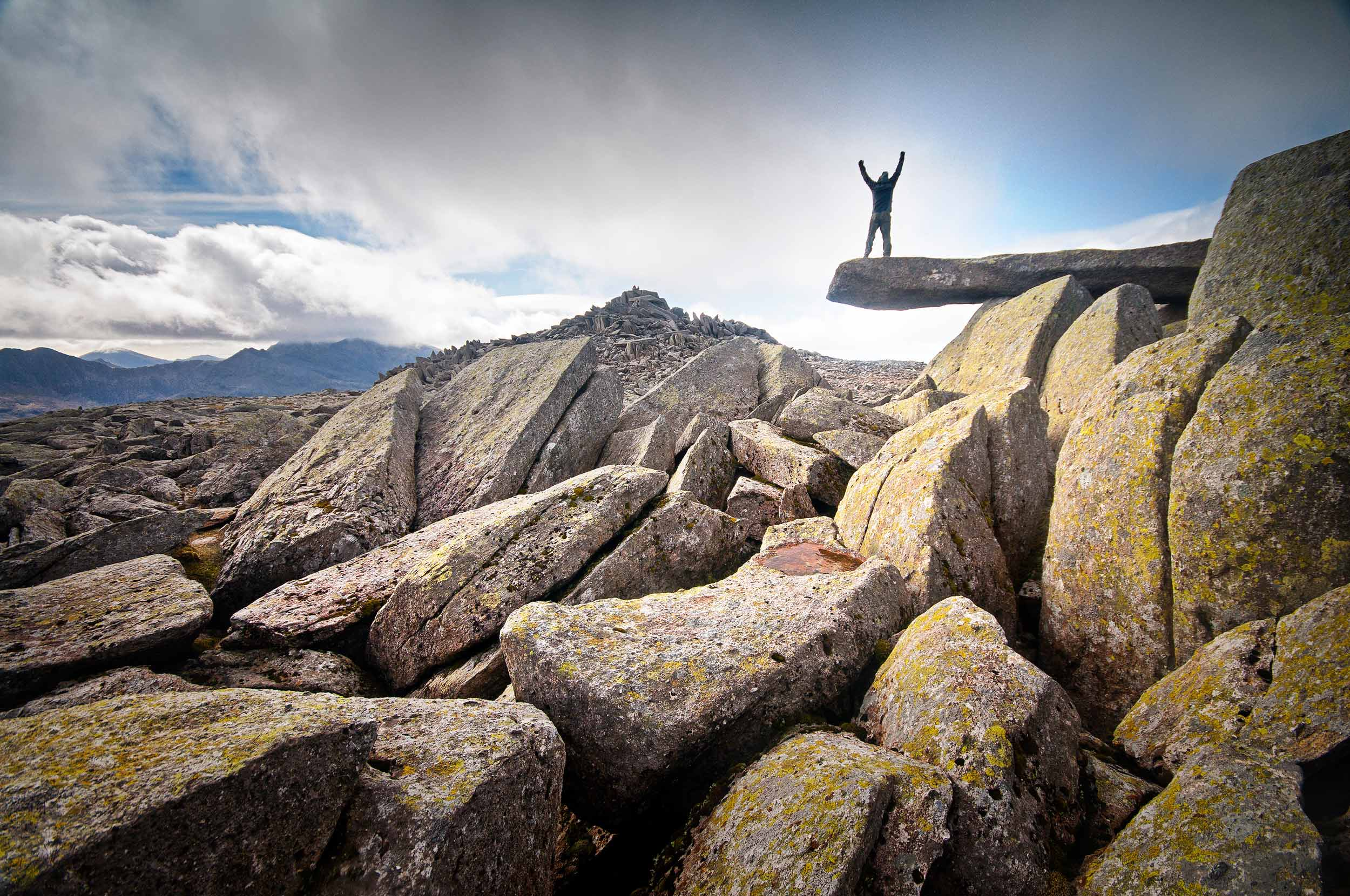 Cantilever Rock, Glyder Fach, Snowdonia  (Crown copyright 2018 / Visit Wales)