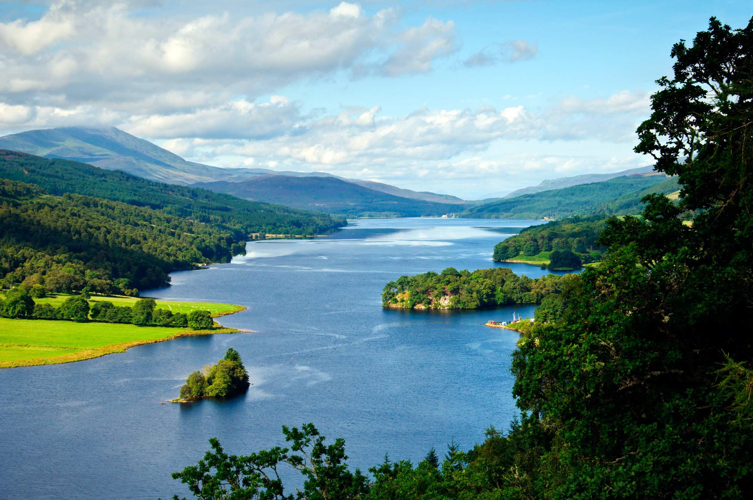 Queens View,Loch Tummel, Perthshire  (Bildagentur Zoonar GmbH/Shutterstock)