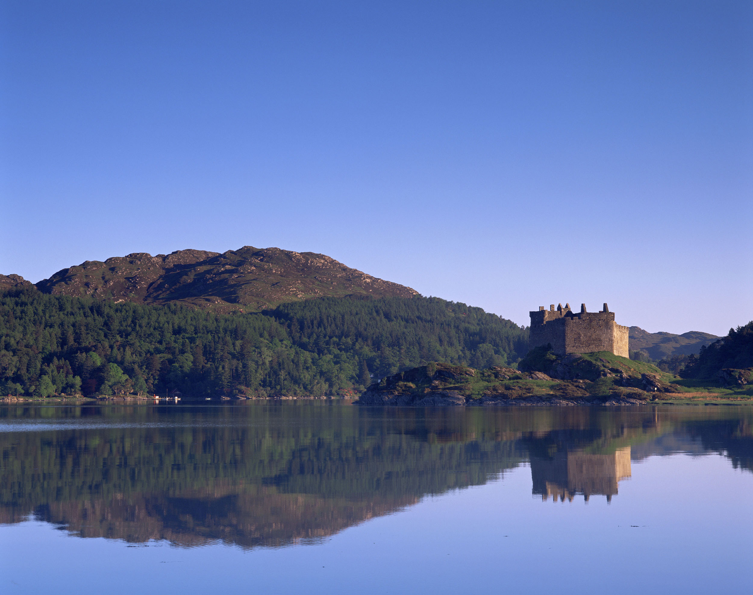 Loch Moidart and Castle Tioram, Scotland  (VisitScotland)