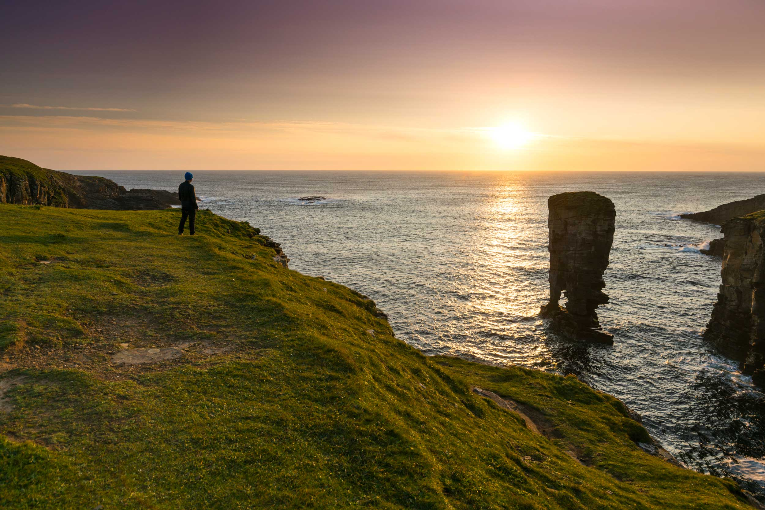 Yesnaby Castle sea stack, Orkney  (VisitScotland)