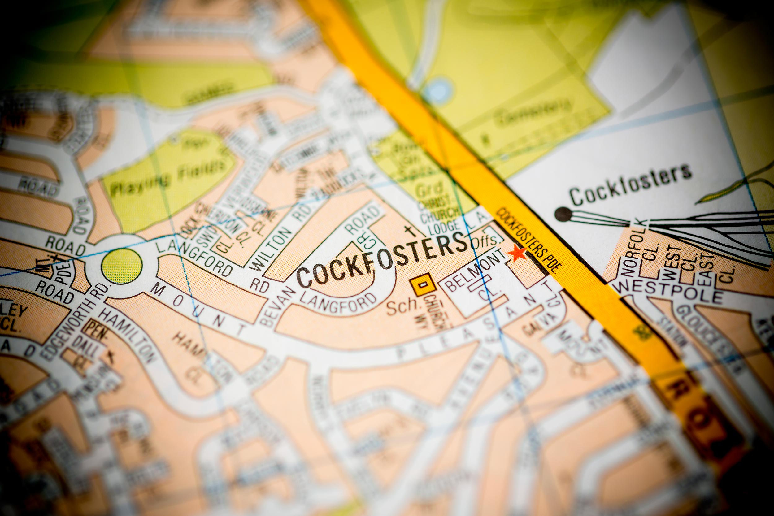 Cockfosters: lowering the tone of London since the middle ages  (Shutterstock / sevenMaps7)