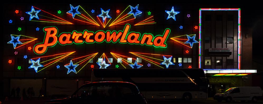 The famous neon of Barrowlands, Glasgow  (Shutterstock / kay roxby)