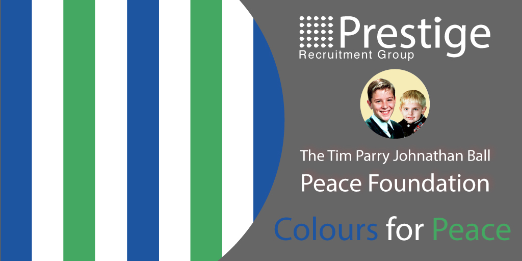 Join Prestige in Taking Part in the 'Colours for Peace' Fundraising Day