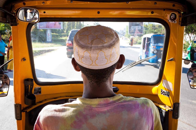 Bajaji driver, Dar es Salaam