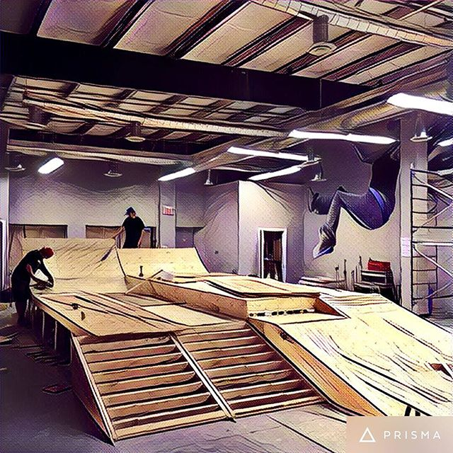 Our new Sk8 park is coming together nicely!!! Opening in the next month!!