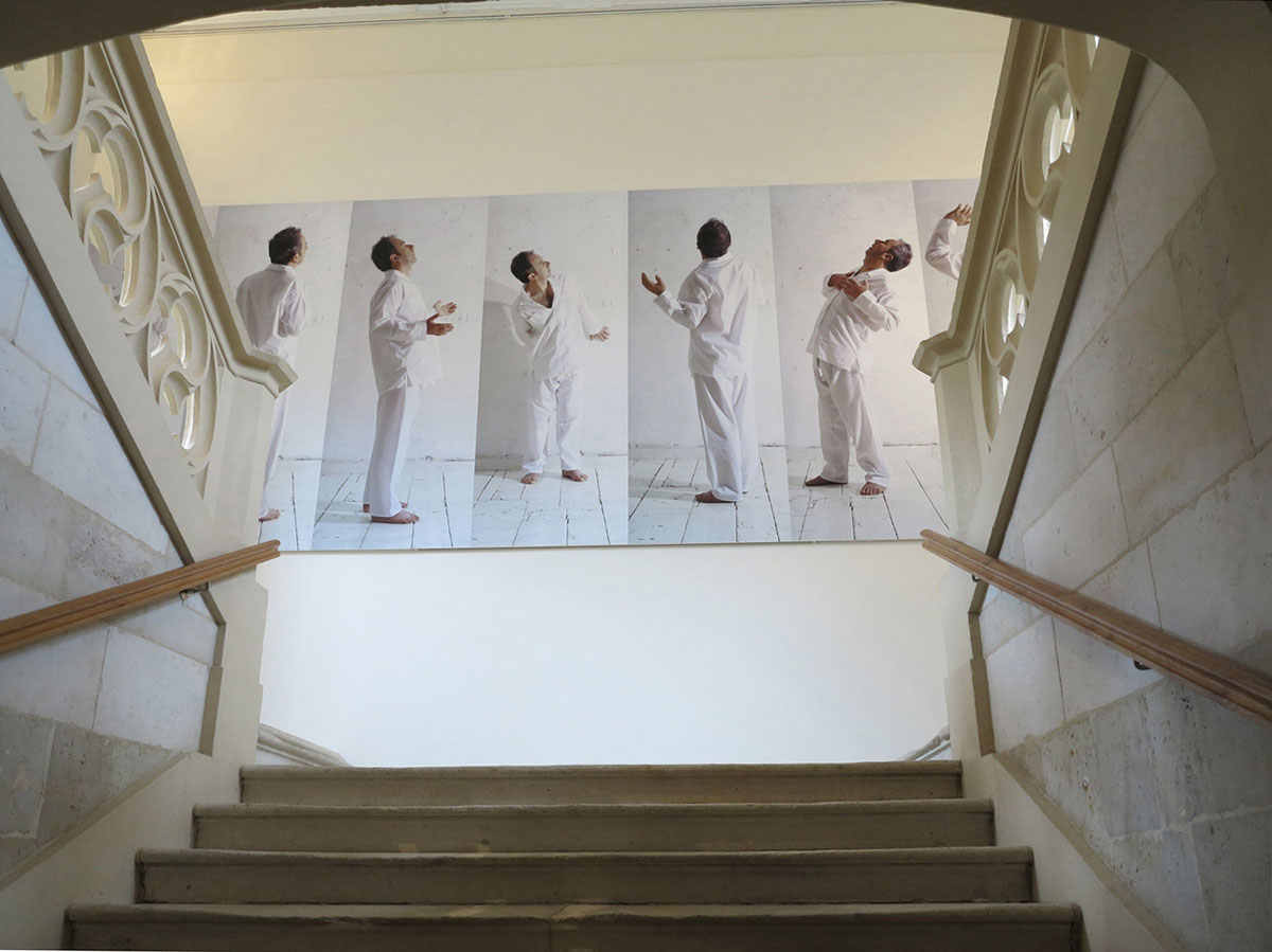 Fergus Martin and Anthony Hobbs,  Frieze,   Hotel de Menoc, Melle, France  2013