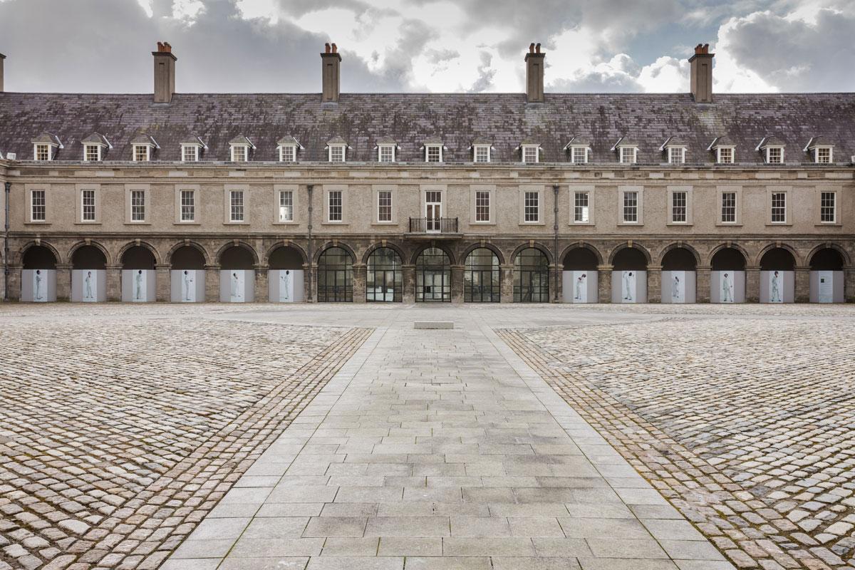 Fergus Martin and Anthony Hobbs,  Frieze,  The Irish Museum of Modern Art, Dublin, Ireland  2013