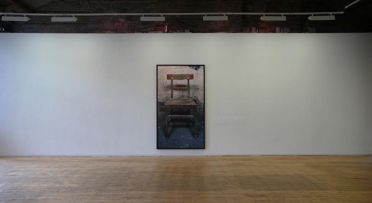 A Chair  2014  Archival pigment print  266 x 150 cm