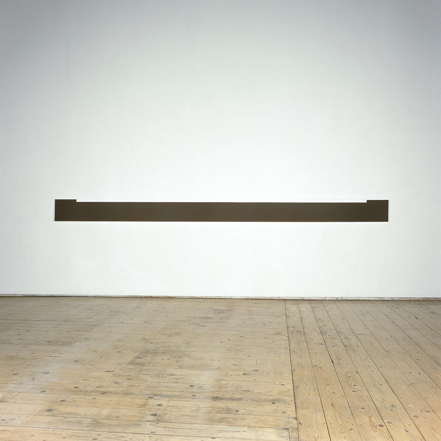 Untitled  1999  Acrylic on canvas  25 x 389 cm