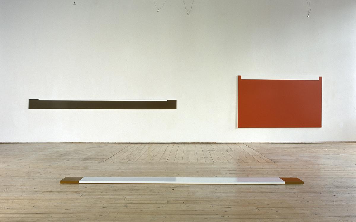 Installation view Fergus Martin New Work, Green on Red Gallery, Dublin, 1999