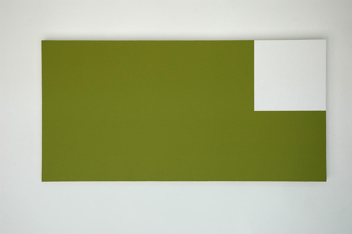 Low  2001  Acrylic on canvas  41 x 82 cm