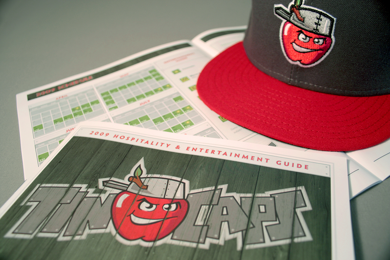 TinCaps Brochure and Hat.jpg