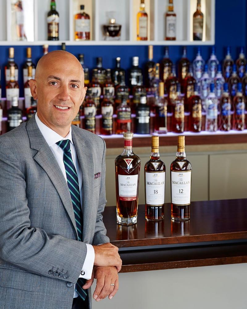 Vice President of Marketing Single Malts at Edrington, Raul Gonzalez