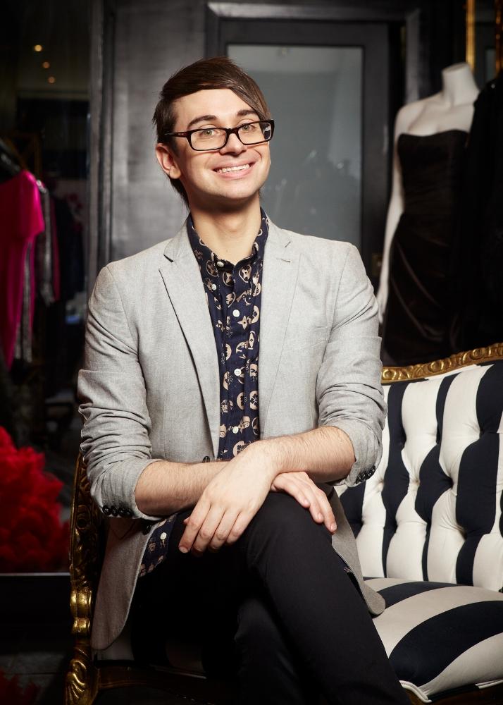 Fashion Designer, Christian Siriano