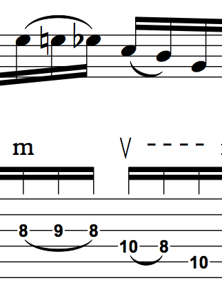 Dirt Poor Robins Maximillian Guitar Lick (Fingering) - 2