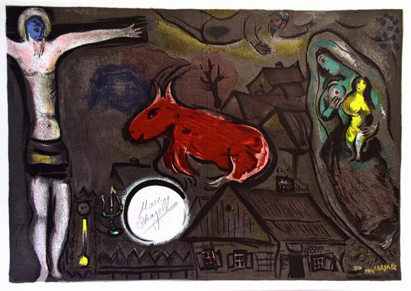 Marc Chagall's  Mystical Crucifixion