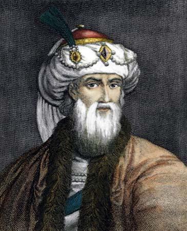 Woodcut engraving of Flavius JosephusinWilliam Whiston's translation.