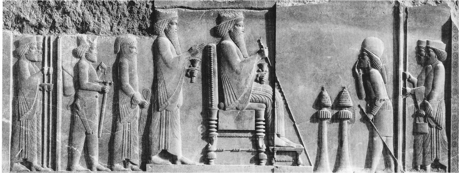 Tribute Bearers, the Apadana Relief, Persepolis
