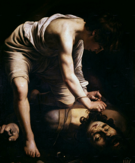 David and Goliath by Caravaggio
