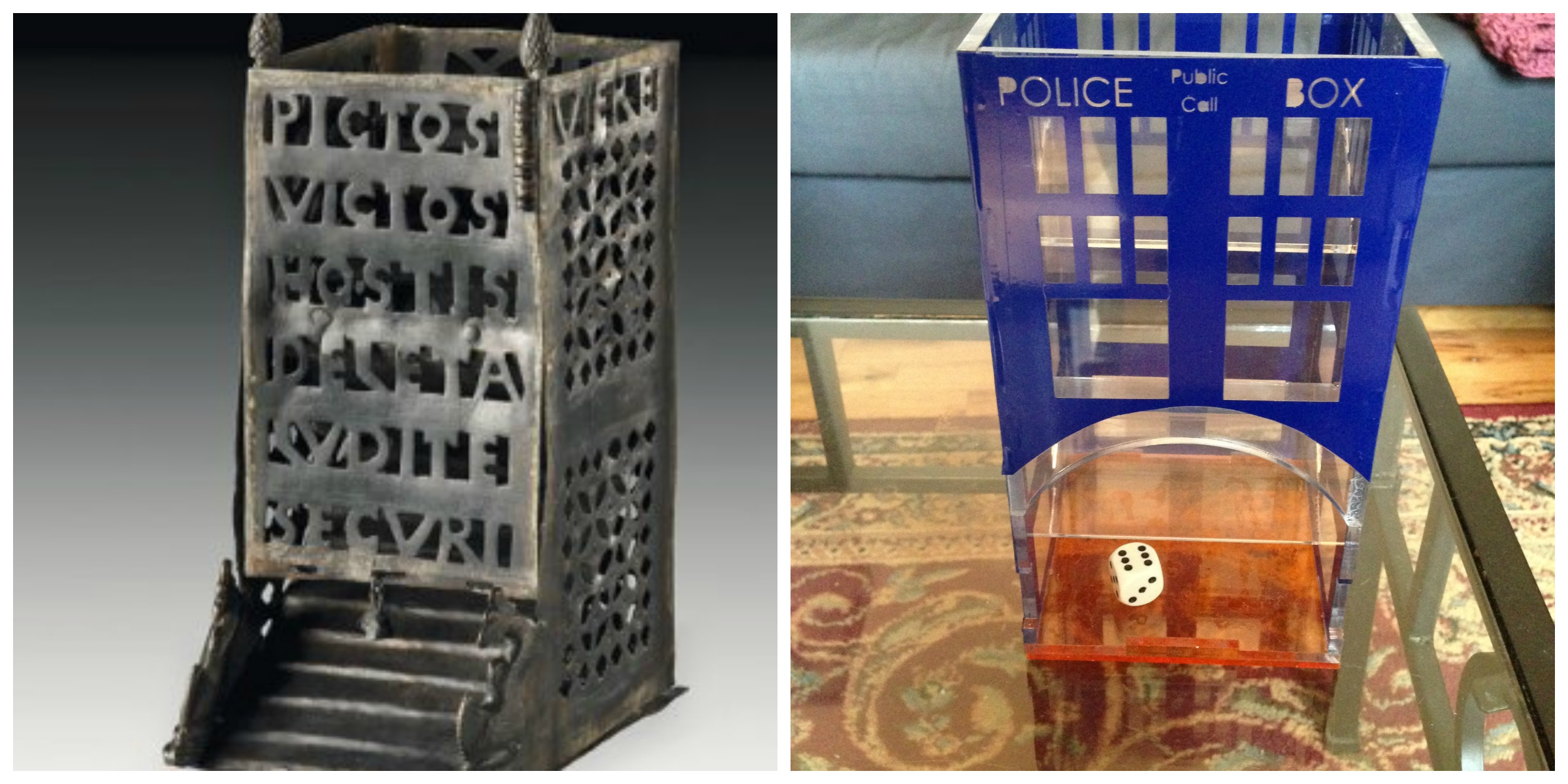 Dice Towers for the Ancient and Modern alike