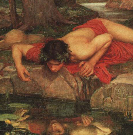 The myth of Narcissus (famously reproduced in Nedarim)
