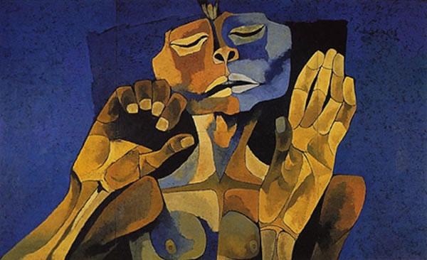 El Mestizaje by Oswaldo Guayasamin