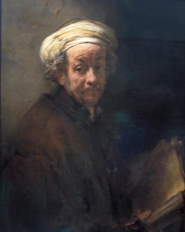 Rembrandt's  Self-Portrait as the Apostle Paul