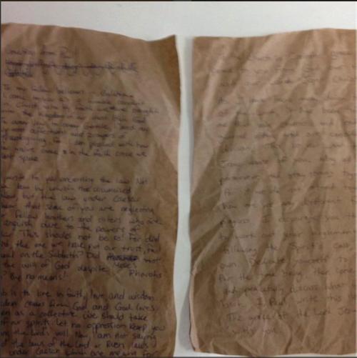 Student's (Deutero)Pauline Letter on Sabbath Observance