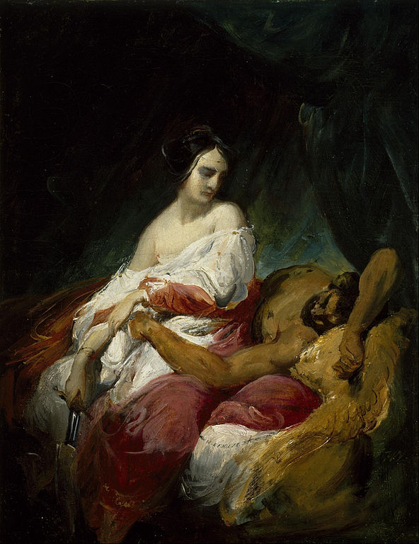 Horace Vernet's Judith and Holofernes
