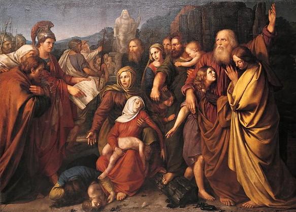 """The Maccabees"" Wojciech Stattler (1800–1875)"