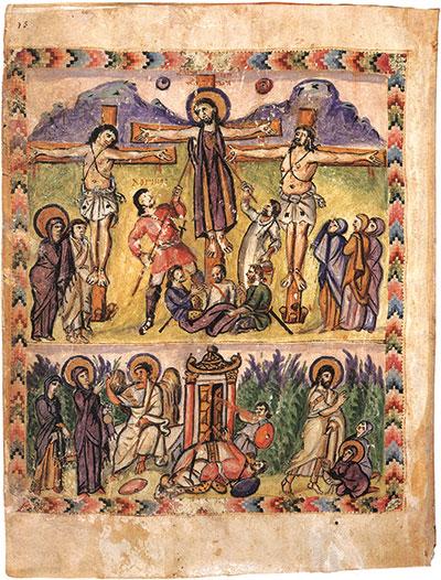 Gospel of Rabbula via Wikimedia Commons