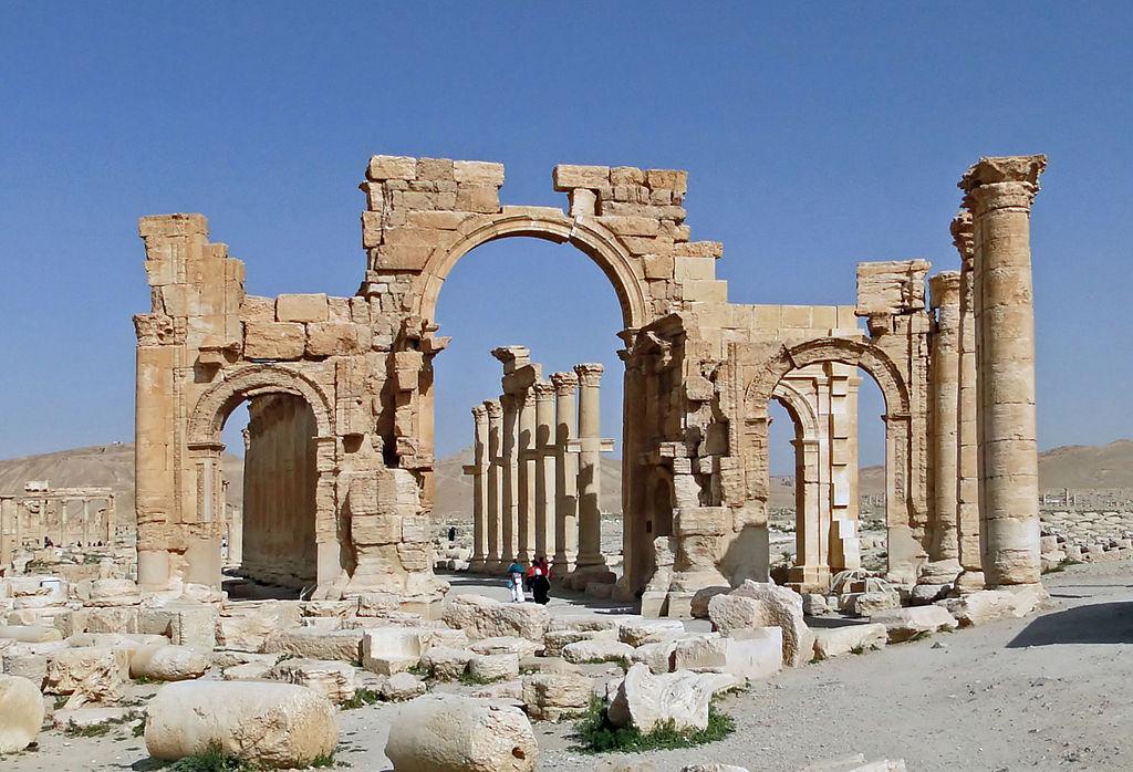 Monumental Arch of Septimius Severus (at Palmyra)By Bernard Gagnon