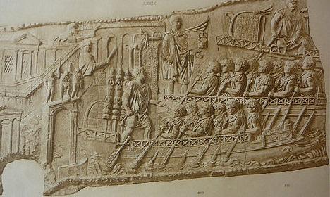 """Conrad Cichorius: """"Die Reliefs der Traianssäule"""", Zweiter Tafelband: """"Die Reliefs des Zweiten Dakischen Krieges"""", Tafeln 58-113, Verlag von Georg Reimer, Berlin 1900"""