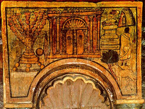 The Torah Shrine at Dura Europas via Wiki Commons